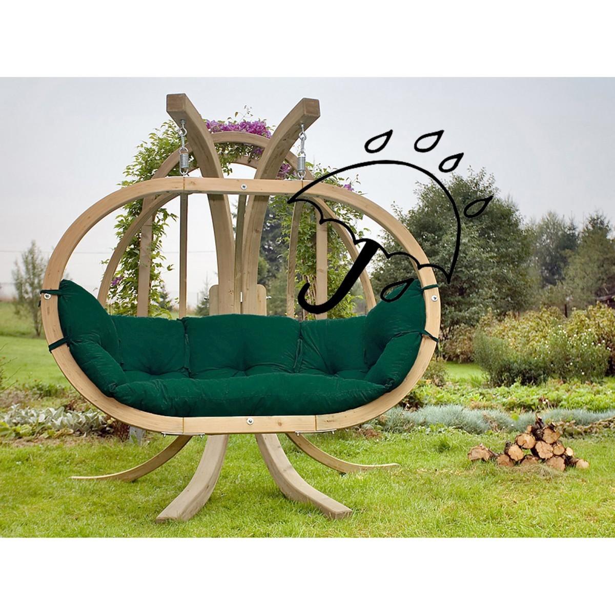 amazonas fauteuil suspendu globo royal waterproof avec support. Black Bedroom Furniture Sets. Home Design Ideas