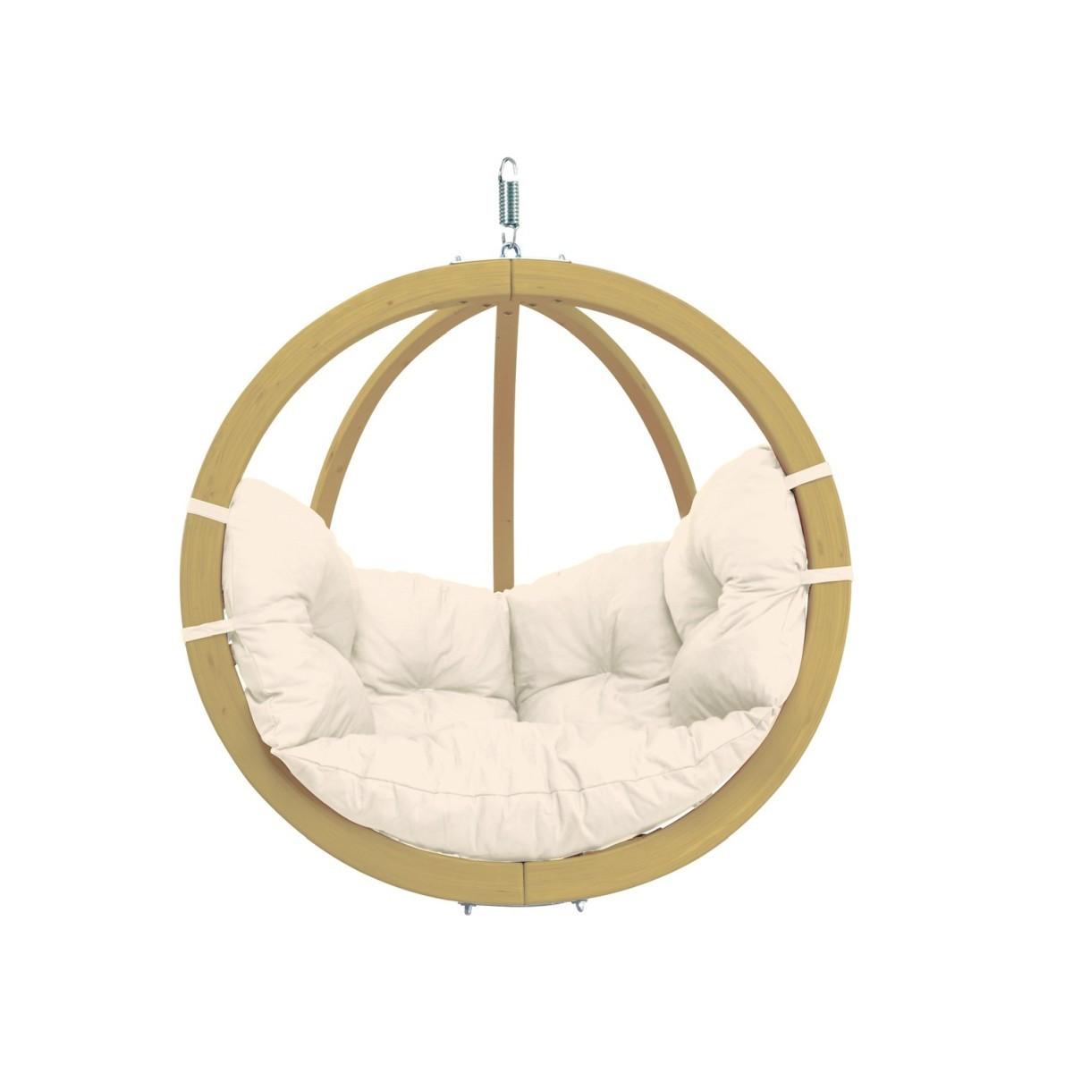 amazonas fauteuil suspendu globo chair natura. Black Bedroom Furniture Sets. Home Design Ideas