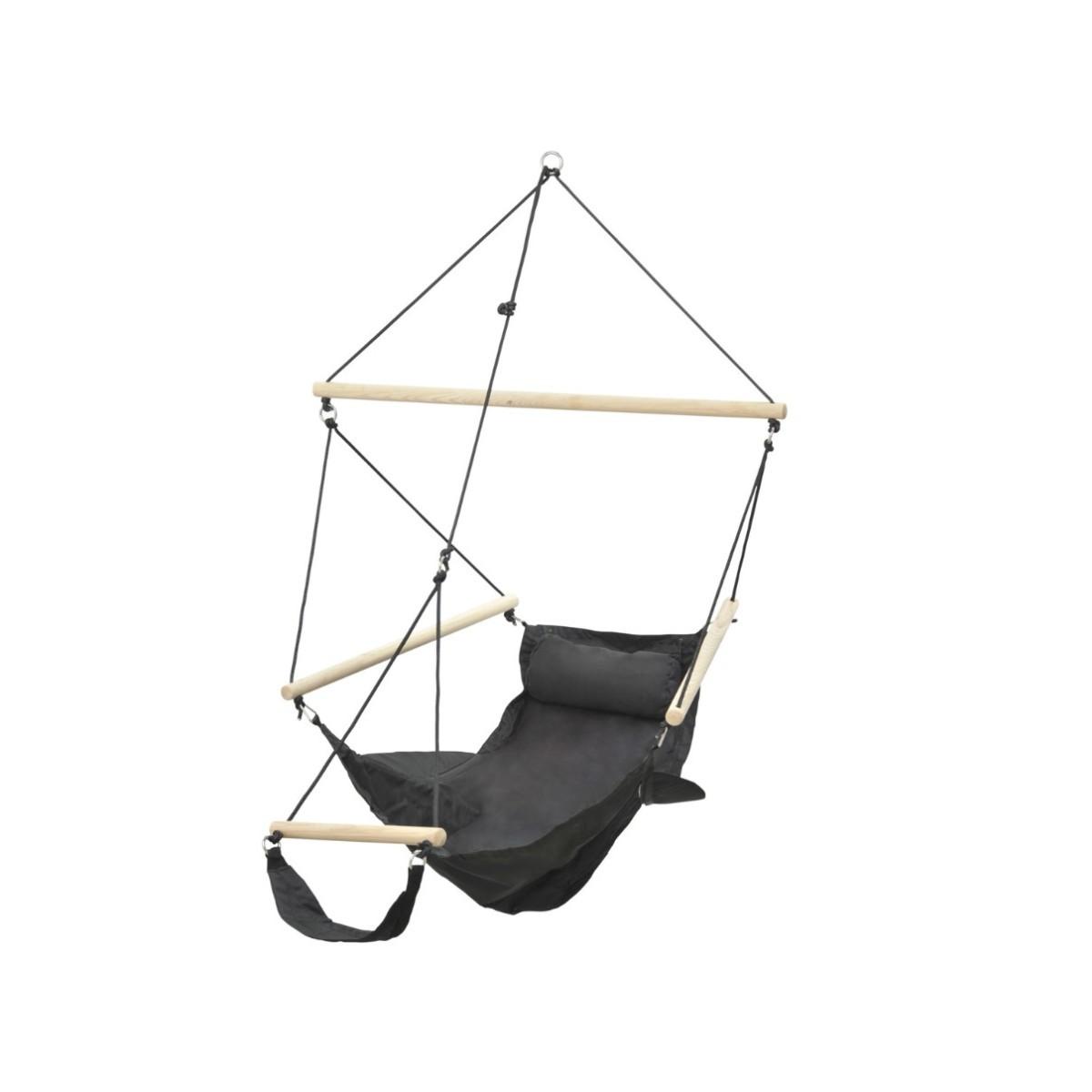 amazonas fauteuil suspendu swinger black. Black Bedroom Furniture Sets. Home Design Ideas