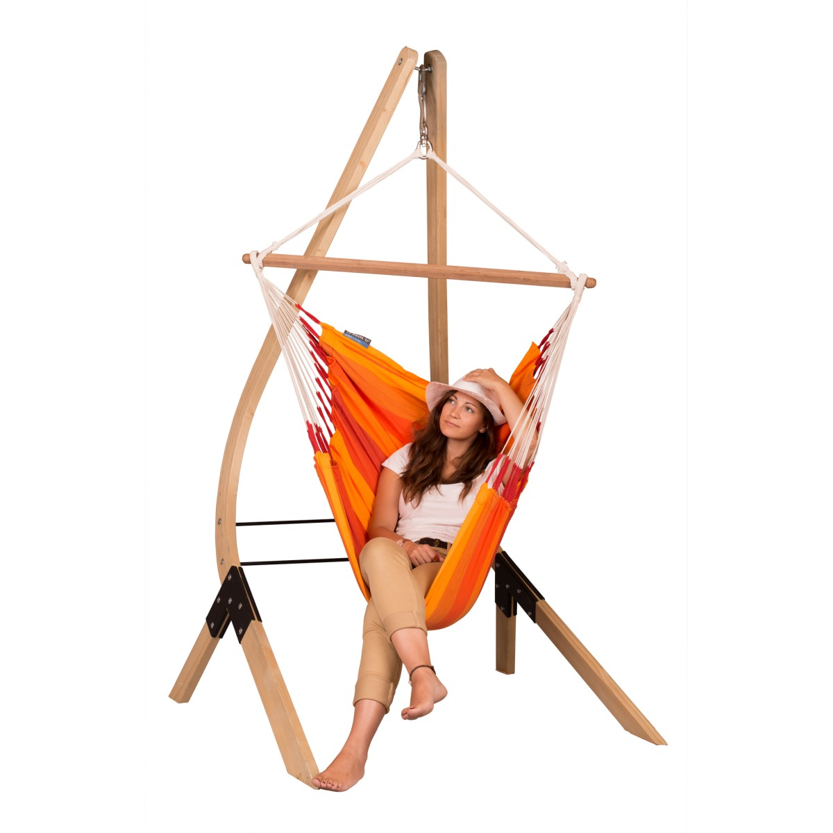 la siesta chaise hamac basic orquidea volcano support en bois vela. Black Bedroom Furniture Sets. Home Design Ideas