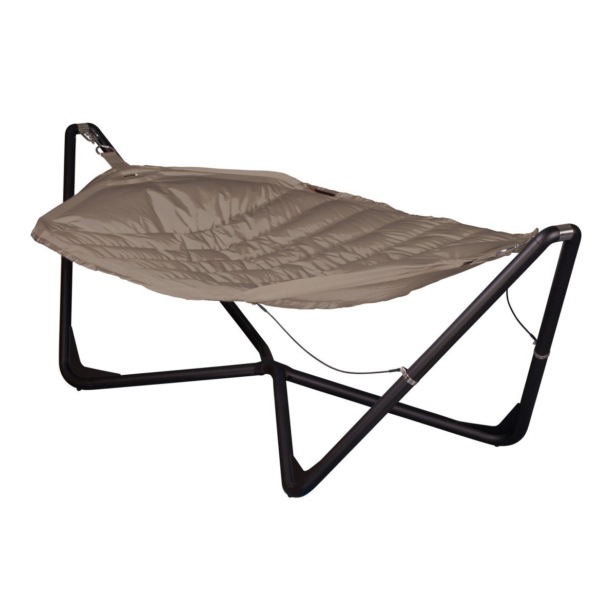 la siesta hamac support lounge xxl serenity taupe. Black Bedroom Furniture Sets. Home Design Ideas