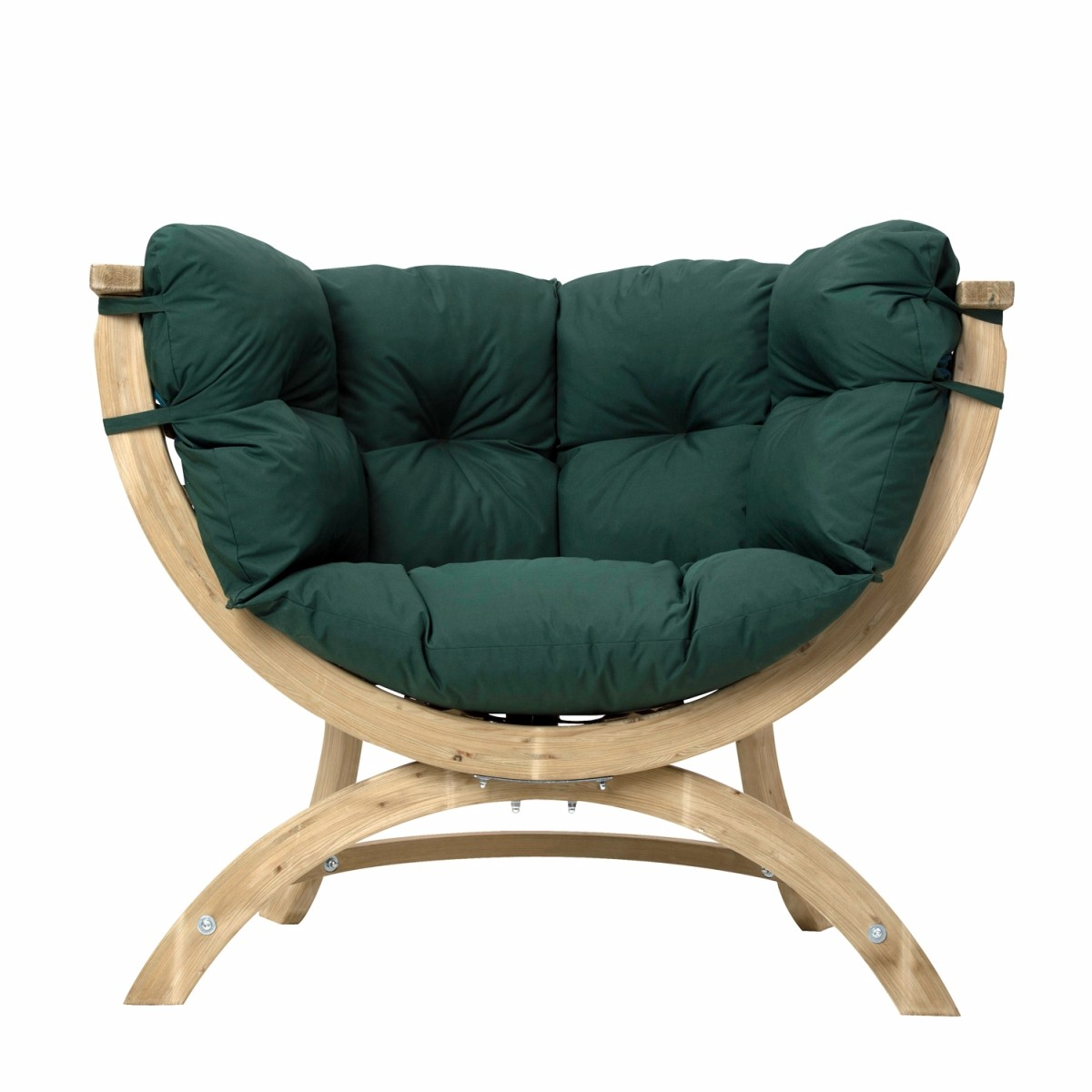 Amazonas fauteuil simple siena vert waterproof for Fauteuil simple