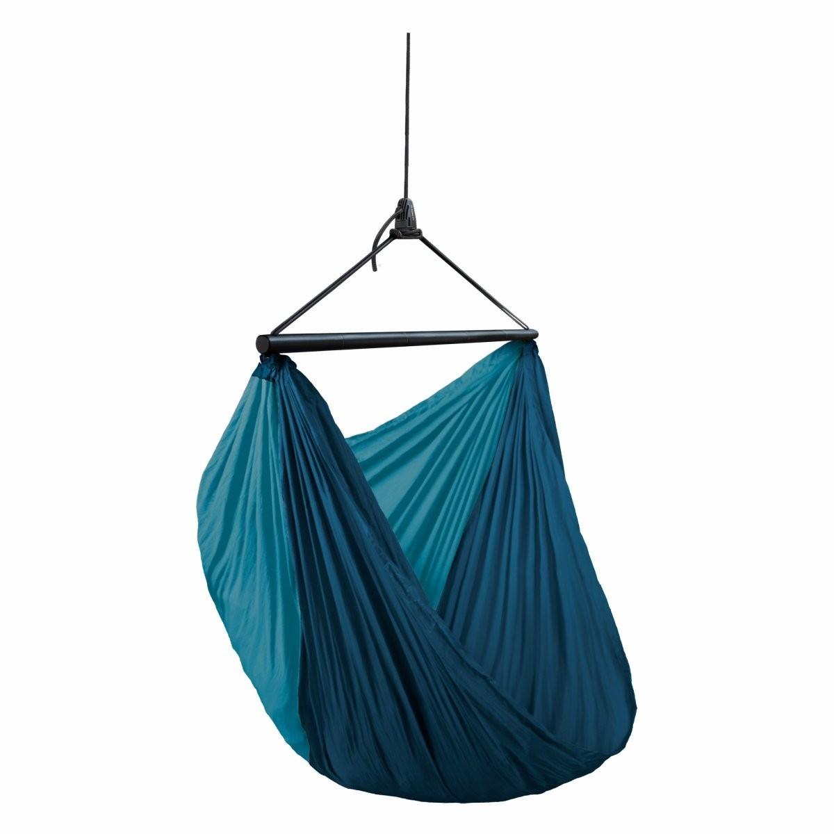 Comment Installer Un Hamac Sans Arbre la siesta- zun-zun chaise-hamac de voyage (fixations incluses) marine